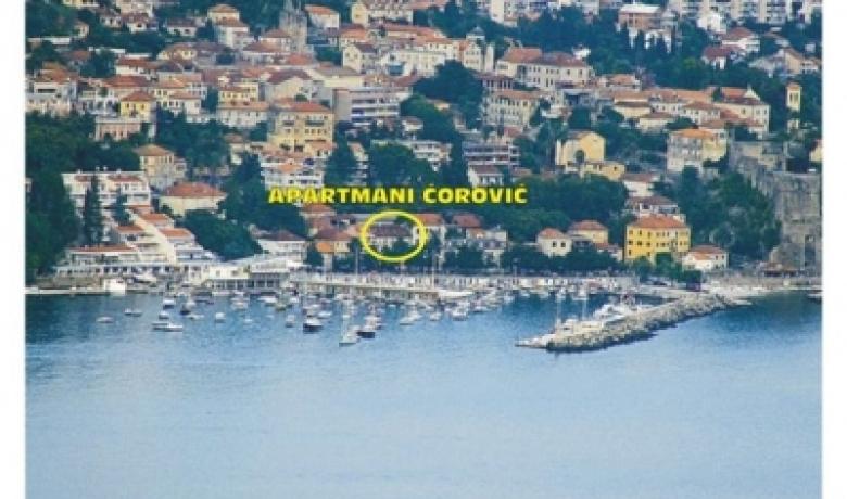 Apartman Corovic, Herceg Novi, Apartmani